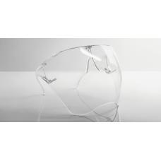 Best Covid Face Shield - Transparent, An-ti Fog uni-sex uni-size Visor for adults (bulk pack of 12)