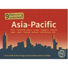 Asia-Pacific SIM - Unlimited Data SIM