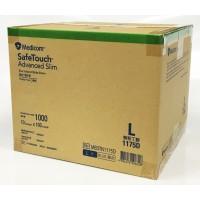 Medicom Disposable Nitrile Gloves Powder-Free Latex-Free 1000pcs=10 boxes=1ctn Safetouch Advanced Slim 1175D Blue Large Size