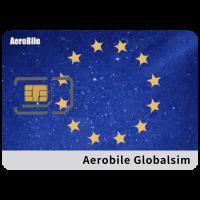 Aerobile Globalsim - Europe Blank Data SIM