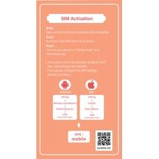 Asia Prepaid Data SIM Card 8 Days- China, Japan, Korea, Thailand, Hong Kong, Macao, Taiwan, Singapore, Malaysia