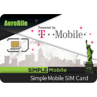 USA SIM T Mobile Simple Mobile SIM Unlimited Domestic Talk and Text, High Speed Data _student sims best choice